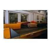 Benzi transportoare cu stratul portant din poliuretan, PVC, elastomer sau silicon cu diferite textur